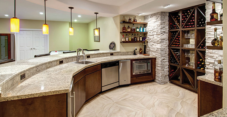 Wet Bars And Wine Cellars By Colorado Finished Basements
