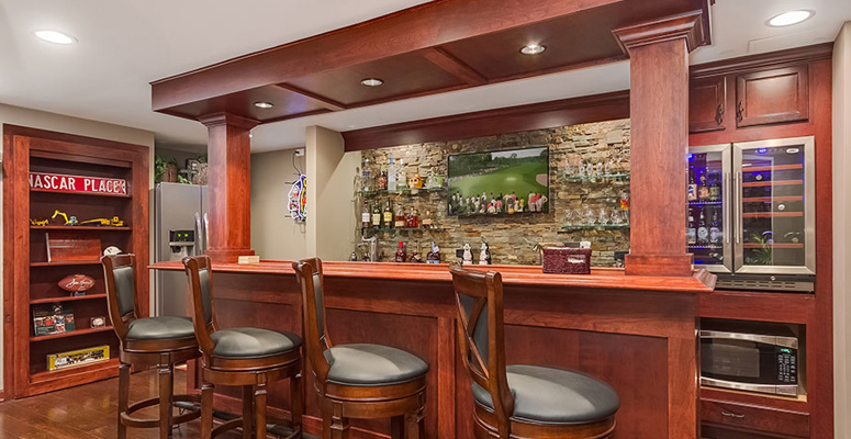Finished Basement Bars colorado finished basements | basement bar